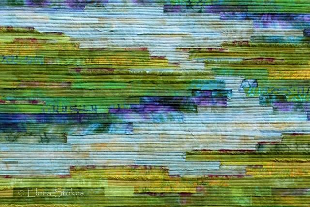 Tranquil Marsh - Wild Iris detail