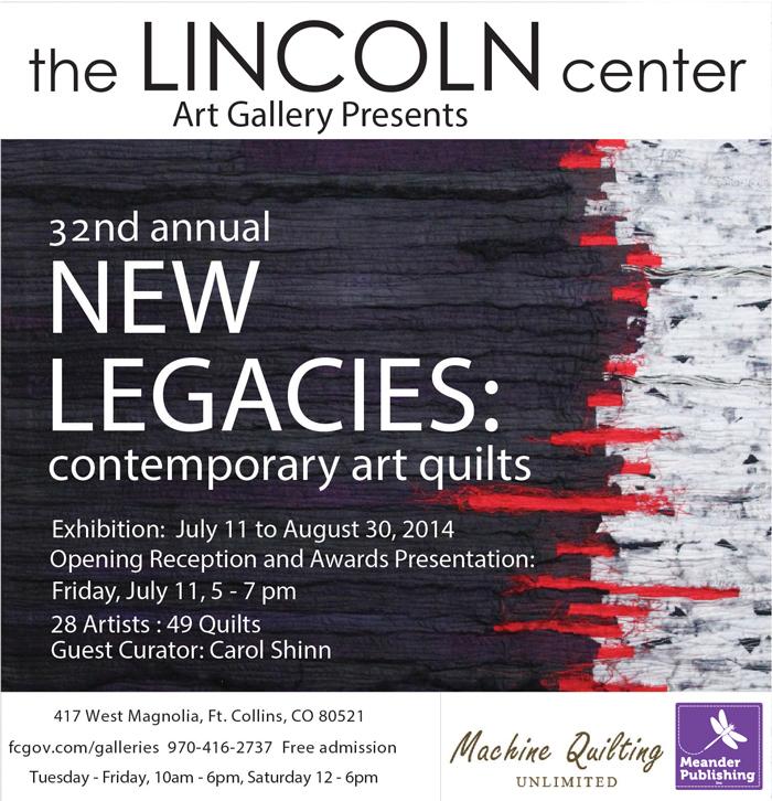New Legacies Contemporary Art Quilts