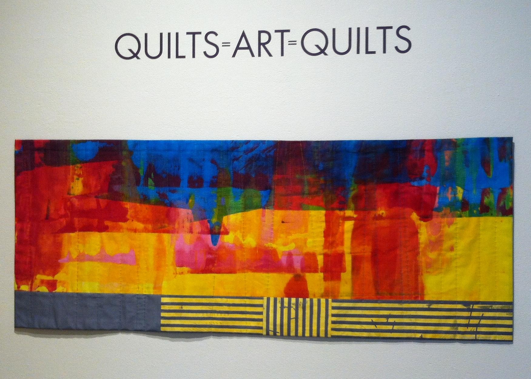 Quilts=Art=Quilts '17 – Part 1